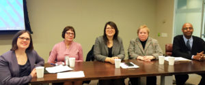 "Photo of ""CALLing Future Leaders"" MLDC program panelists"