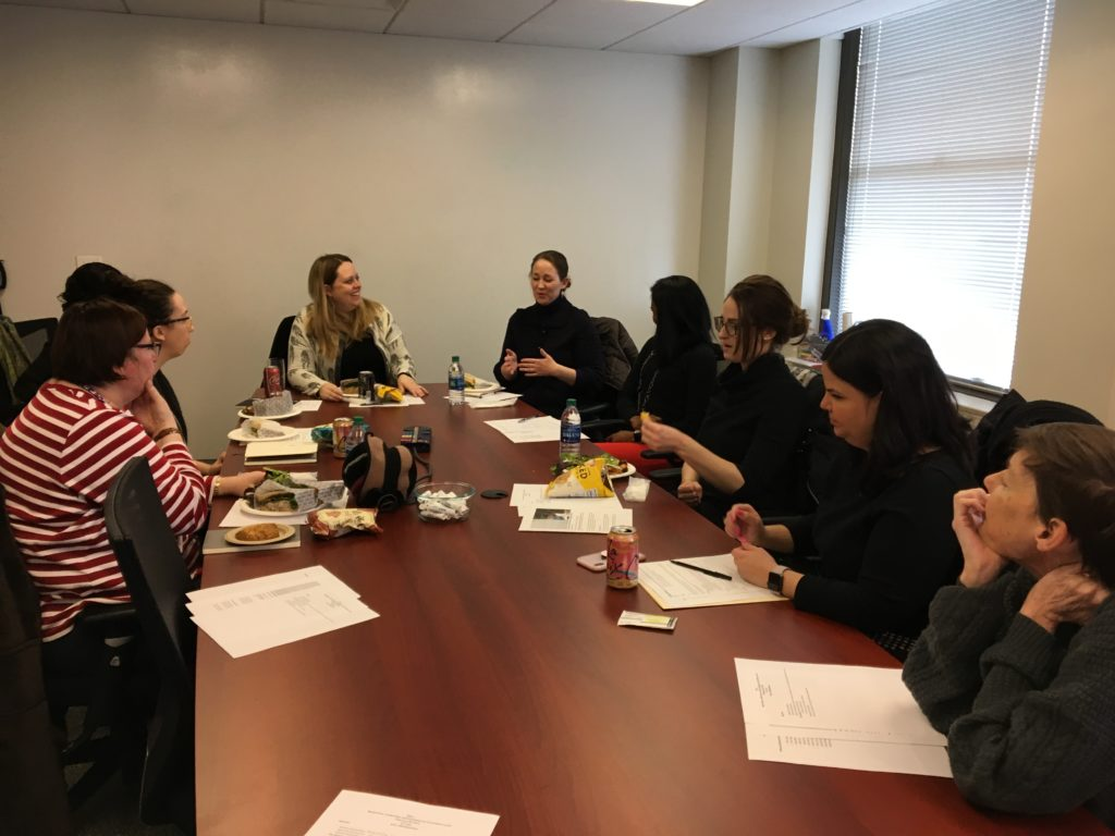 Photo of CALL MLDC Brown Bag Lunch Participants, Feb. 25, 2019
